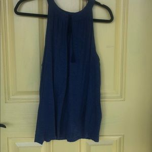 Vince Camuto Tank with Tassel Ties Large NWOT